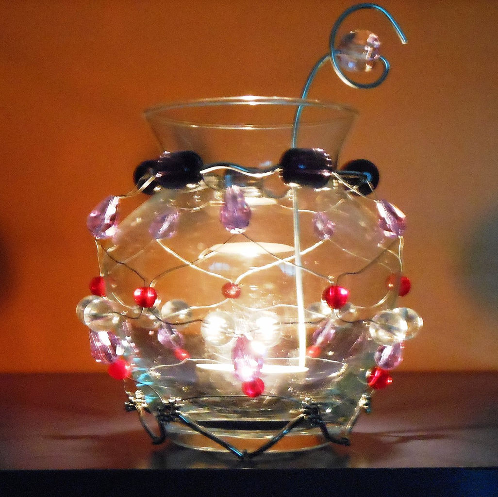 La bottega artigiana danisia - Portacandele in vetro ...