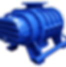 Rotary twin lobe water cooled blower