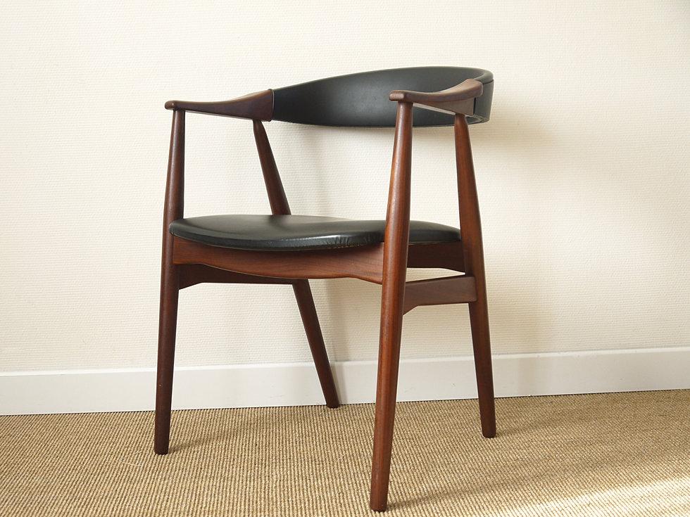 Anterieur design fauteuil farstrup design scandinave teck - Fauteuil made in design ...