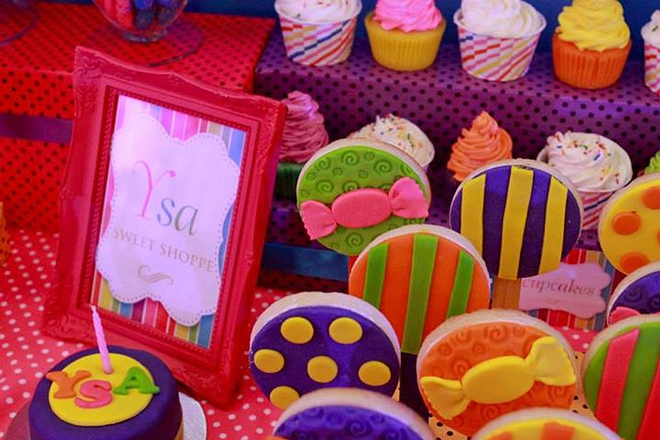 Candyland Cookies for Ysa