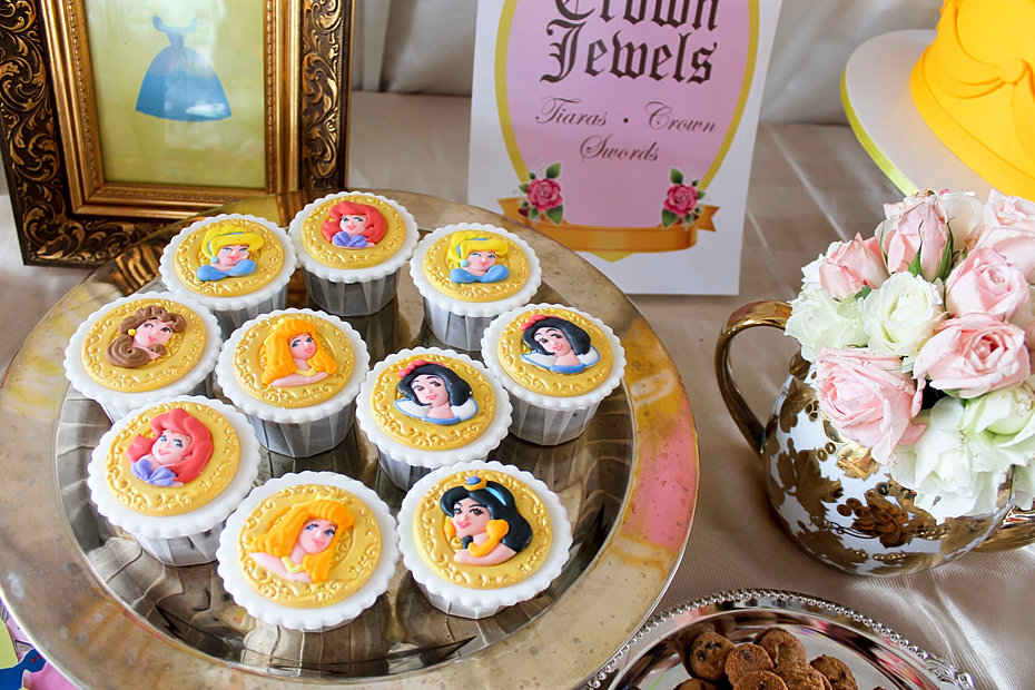 Disney Princesses cupcakes