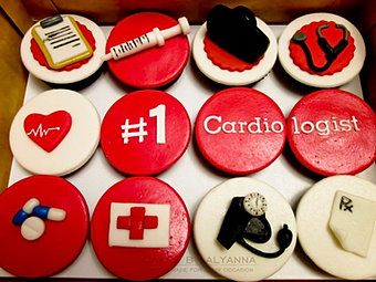 Doctor's cupcakes