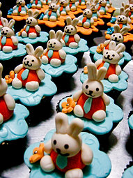 Baby Bunny cupcakes