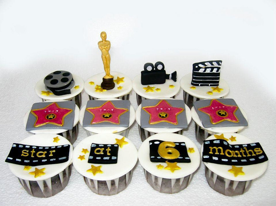 Hollywood Star cupcakes