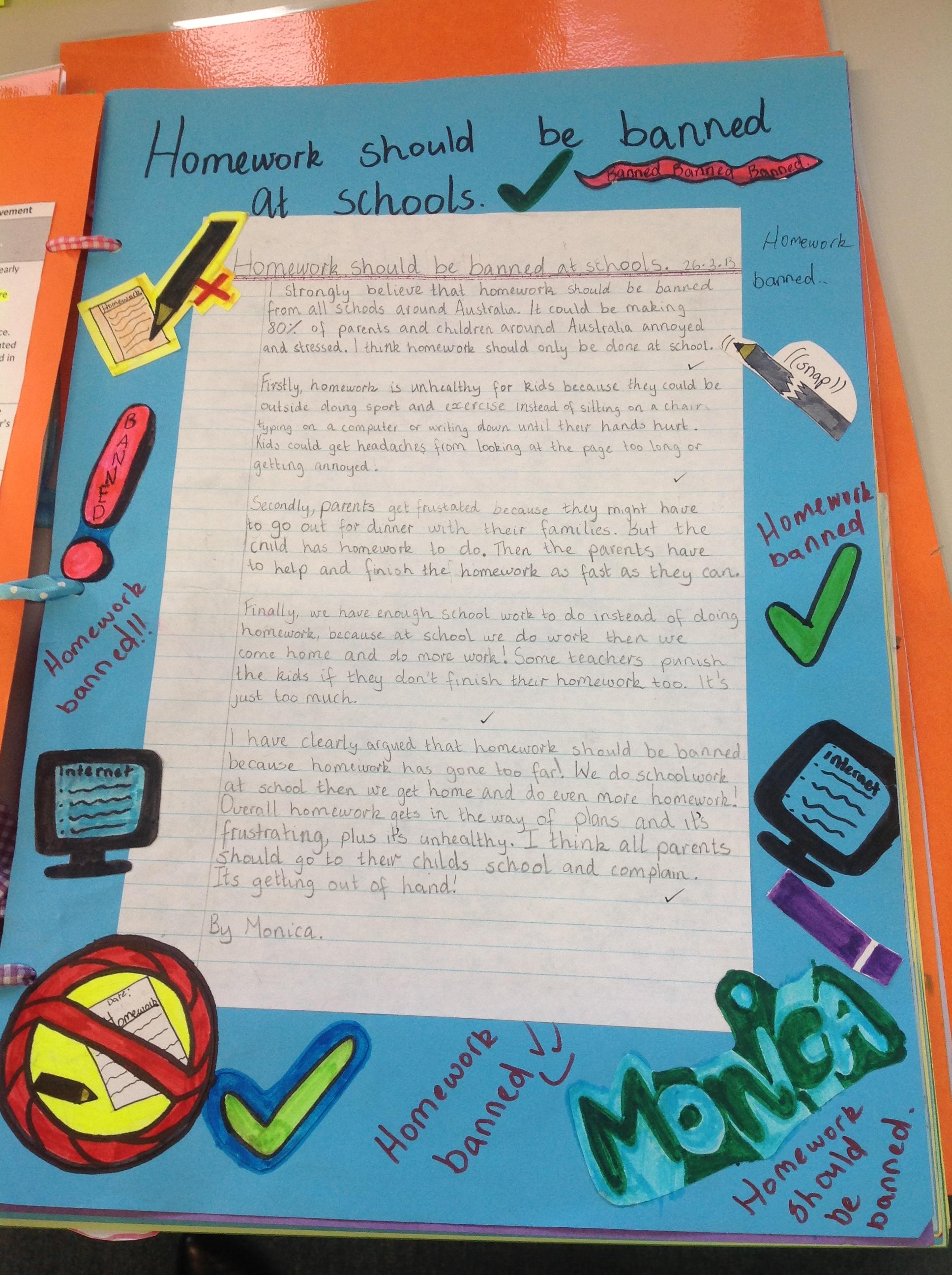 edison english homework rubric