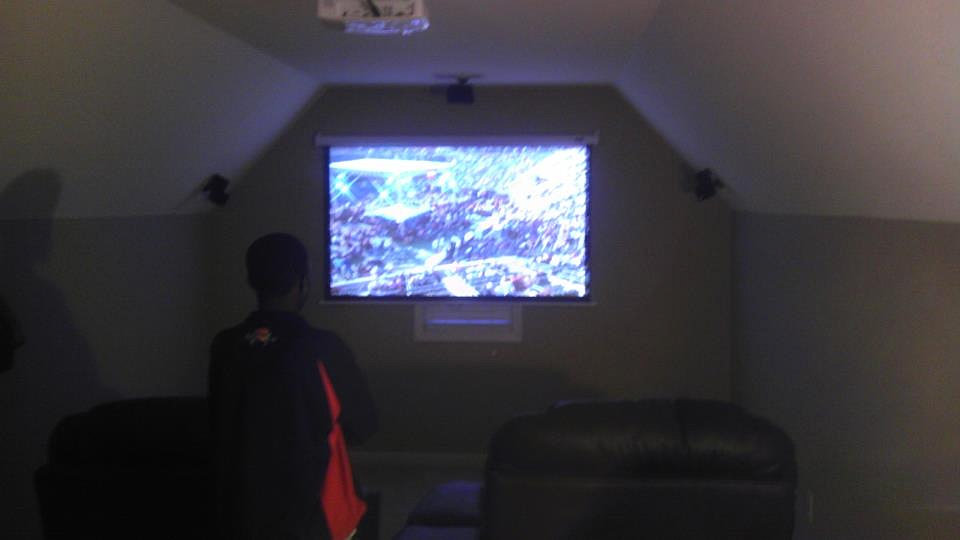 Installation services we hide the wires alabama attic man caves