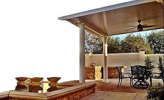 Patio Cover Fan Kit, Patio Cover Columns, DIY Patio Cover Kit, Alumawood Kit - DIY Alumawood Patio Cover Kits, Shipped Nationwide