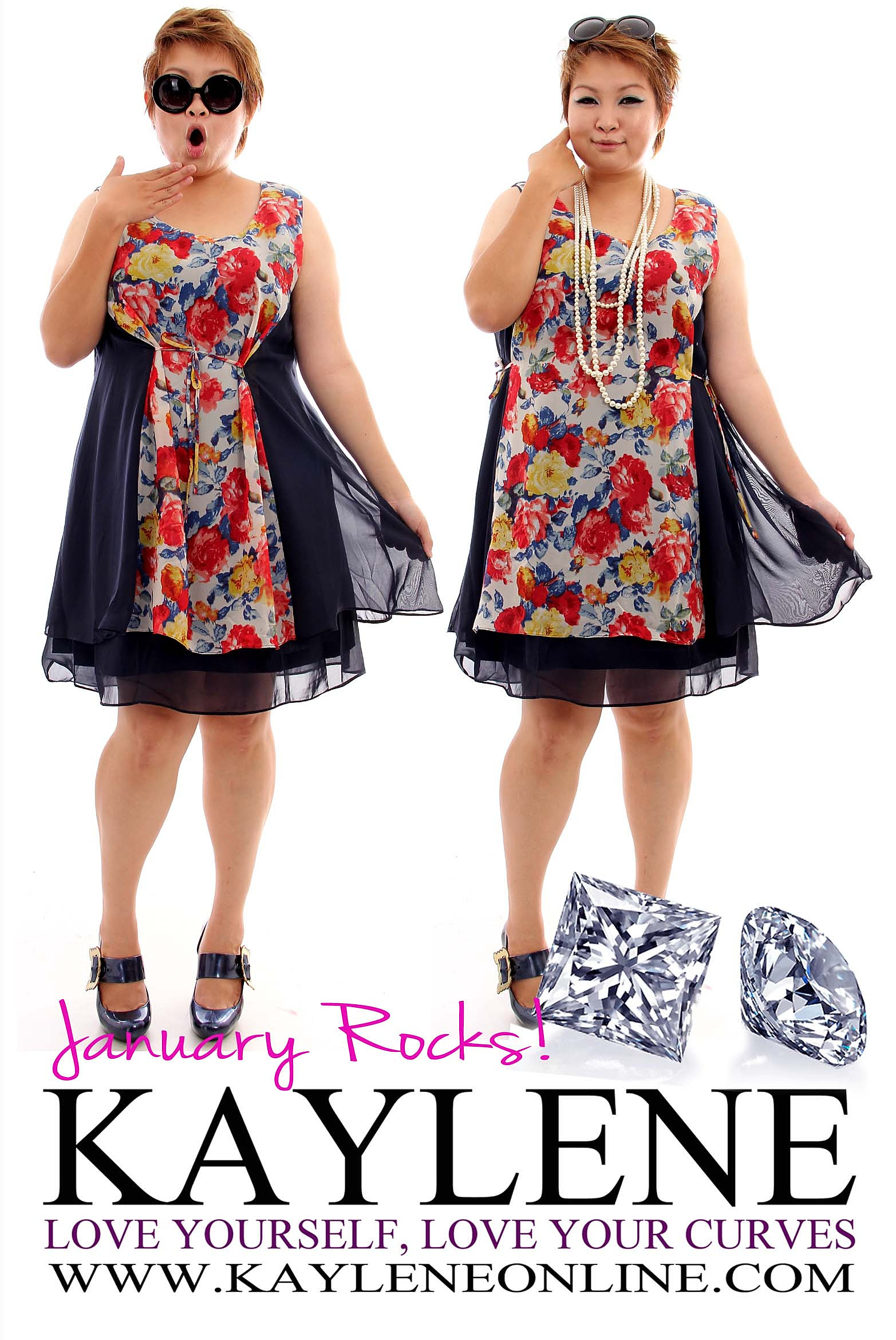 kaylene love yourself dress your curves plus size. Black Bedroom Furniture Sets. Home Design Ideas