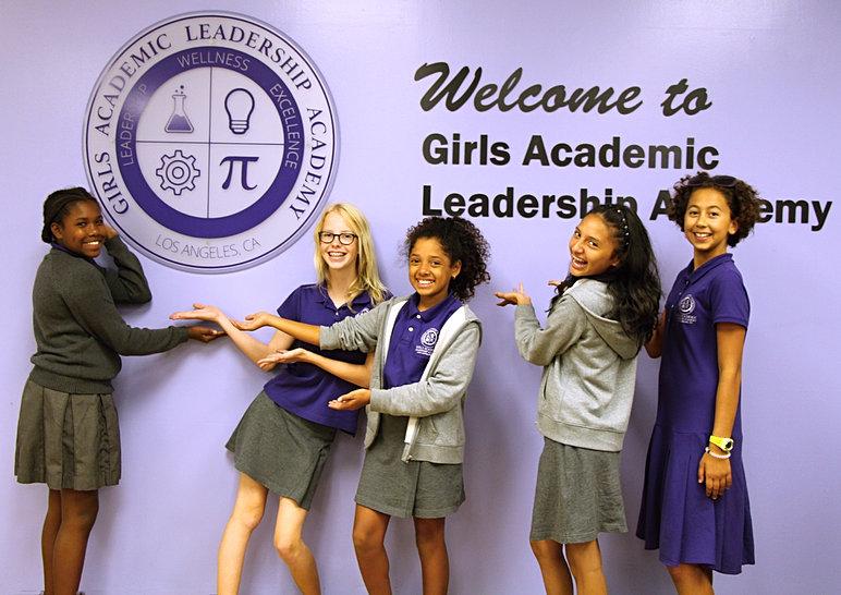 GALA Girls Academic Leadership Academy -- All girls school Los Angeles
