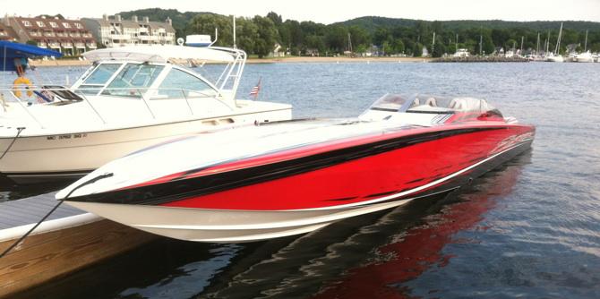 Custom Paint and Design | Boat Customs