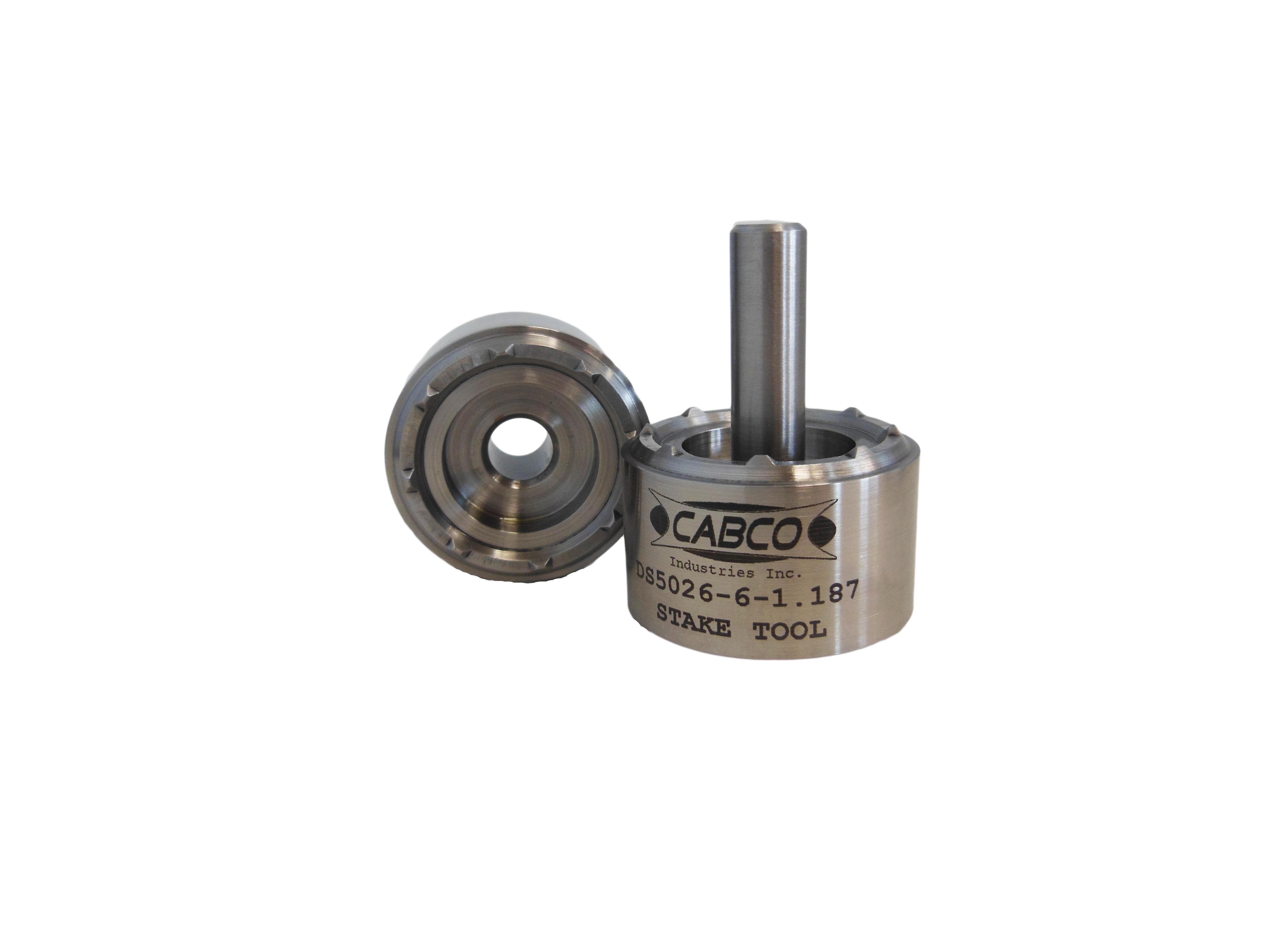 Cabco Industries Bearing Installation Aerospace Tools Bearing Tools Staking Tool