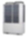 電気ヒートポンプエアコン写真