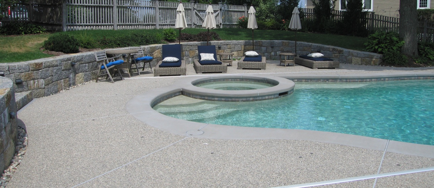 Spa Within Pool