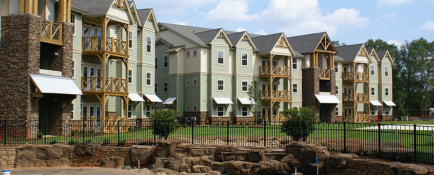 Town Home (1st/2nd Floor) Three BR Town Home (3rd Floor) Four BR Town ...