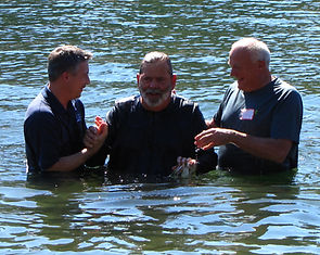 Picture of a baptism.