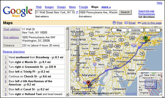 Mapquest or google maps directions for life – Maps Com Directions