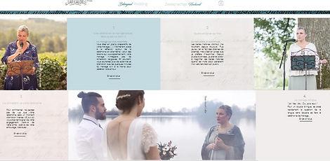 cérémonies de mariage Céline Larigaldie officiante bilingue