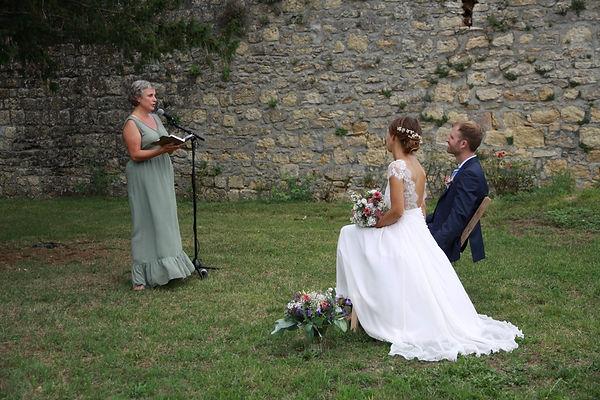Cérémonie de mariage franco-allemand