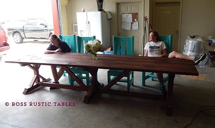 Search results for 2 to 20 table calendar 2015 for Extra long farmhouse table