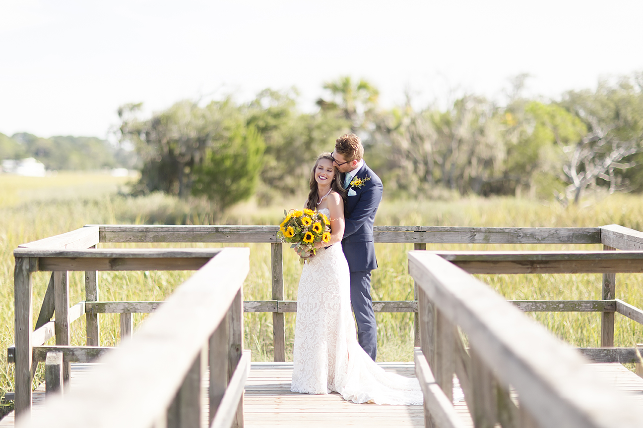Sunflower Wedding Photograph