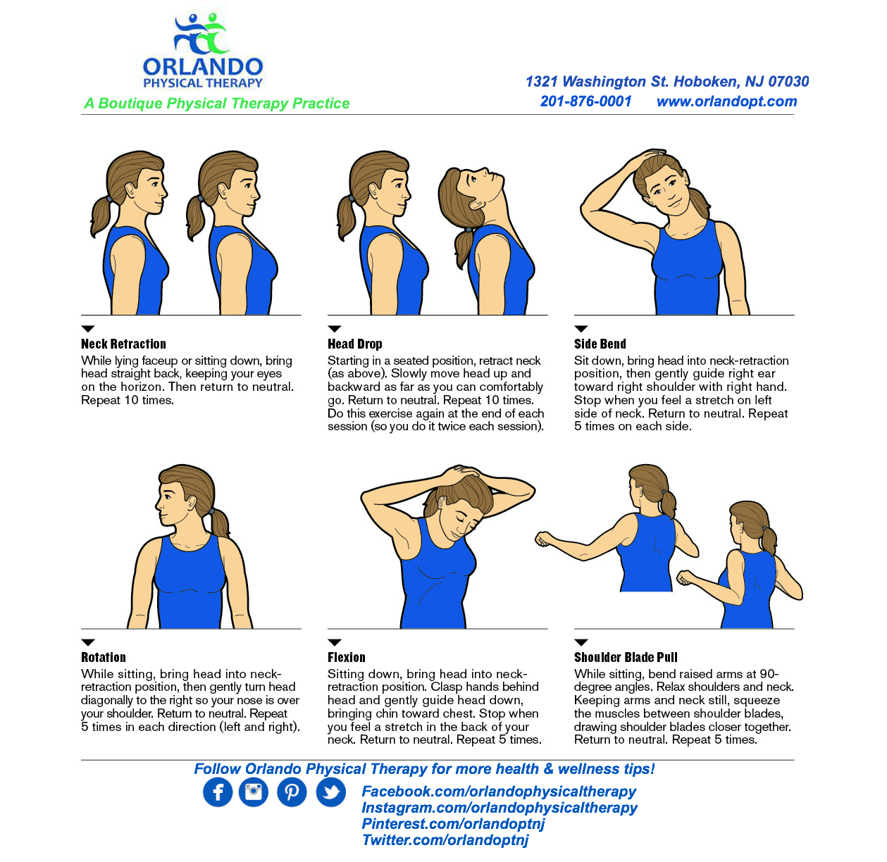 6 Easy Moves to Relieve Neck Tension | Orlando Physical ...
