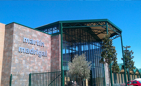 Obra civil e industrial - Centro de jardineria madrid ...