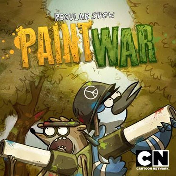 La guerra de pinturas invade el parque, ¡Te tocará un equipo alazar y deberás llevarlo al triunfo!