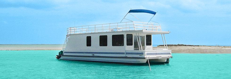 Catamaran Cruisers Houseboats Aqua Lodges 8x31 LIL