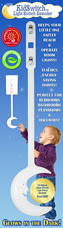 Enter to #Win the original glow in the dark light switch extension by KidSwitch - #Giveaway ends 4/13 #scrf Visit Shady's Contests, Reviews, and Freebies at http://paulams.weebly.com/blog.html