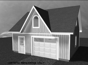 Di22x24f garage canadian stock home plans for Garage plans ontario