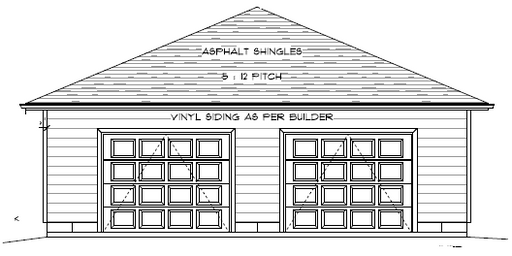 Di30x40m garage canadian stock home plans ontario for Garage plans ontario