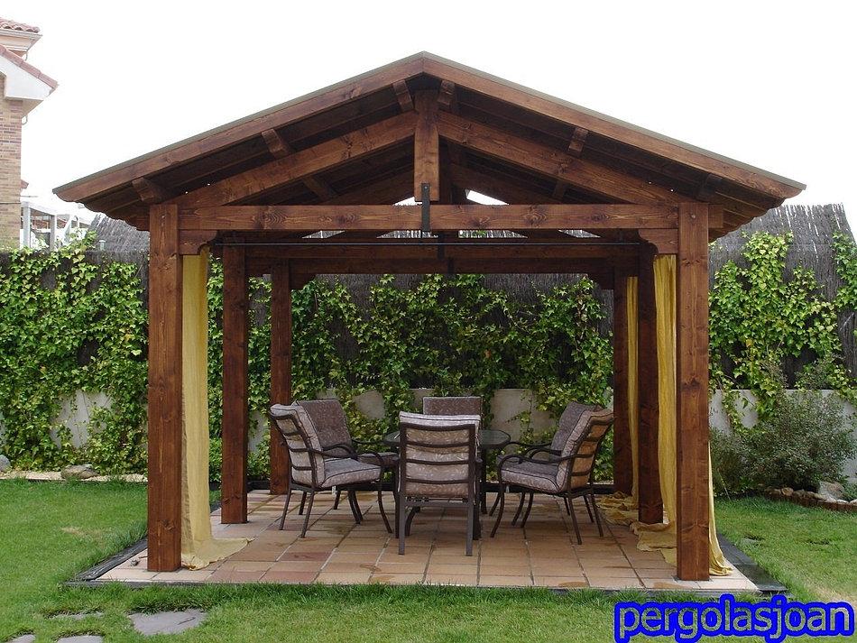 Porches de madera pergolas cenadores - Pergolas de maderas ...
