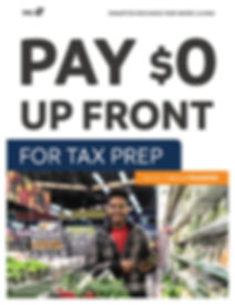 TPG Refund Transfer Flyer Download and P
