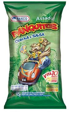 PANQUITOS 50G CEBOLA E SALSA