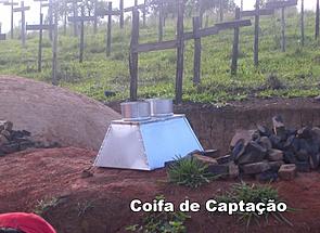 Extrato pirolenhoso coleta www.carlosabe.com