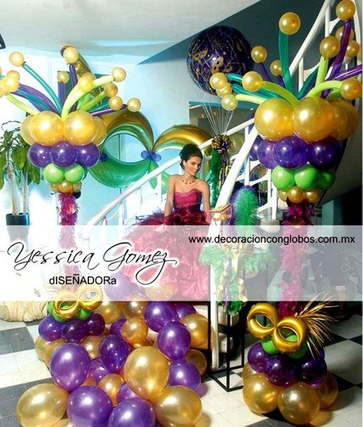 Decoracionconglobos created by opticamayer based for Decoracion para carnaval