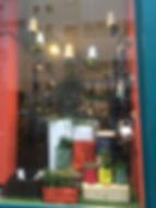 Vitrine printemps Jane jardinerie, visual merchadisig, Nantes