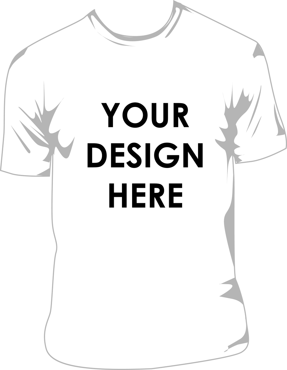 Design t shirt png - Your Name Here Png