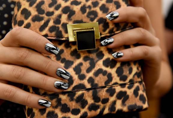 Runway Nails Spotted At Christian Siriano Alice Olivia