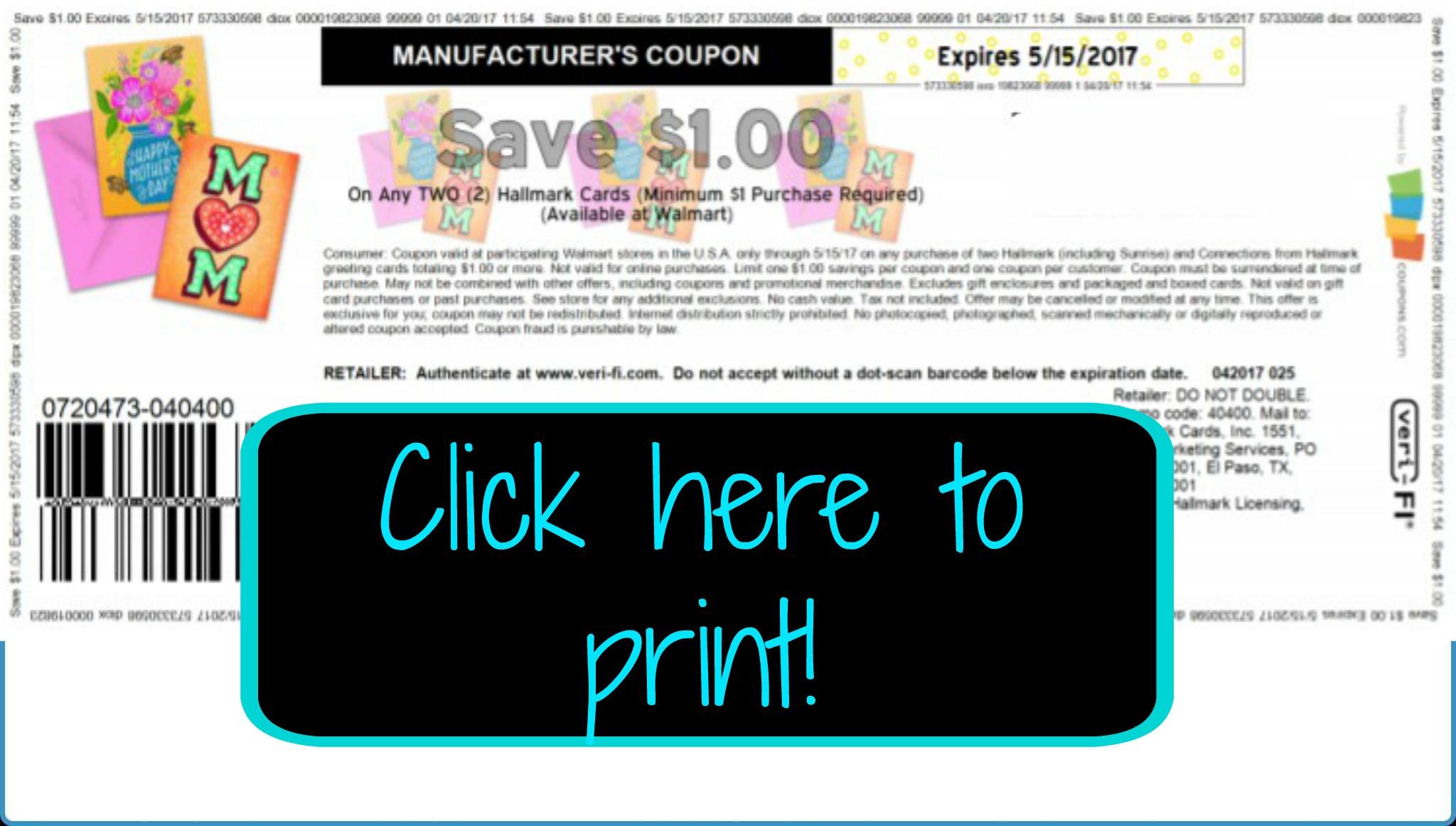 Hot rare 1 2 hallmark card coupon my publix coupon buddy publix couponing help made easy