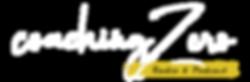 LOGO coachingZero Radio & Podcast WHITE