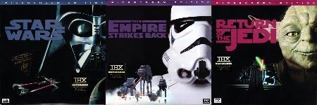 Star Wars faces Laserdiscs