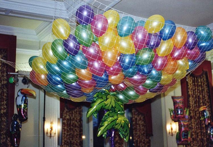 ... birthday party helium balloons wedding  Balloon Drop Net Harrogate