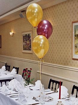 50th birthday party ideas helium balloon