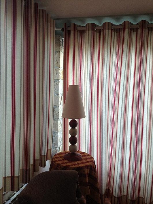 rideaux de d coration classique moderne illets ou. Black Bedroom Furniture Sets. Home Design Ideas