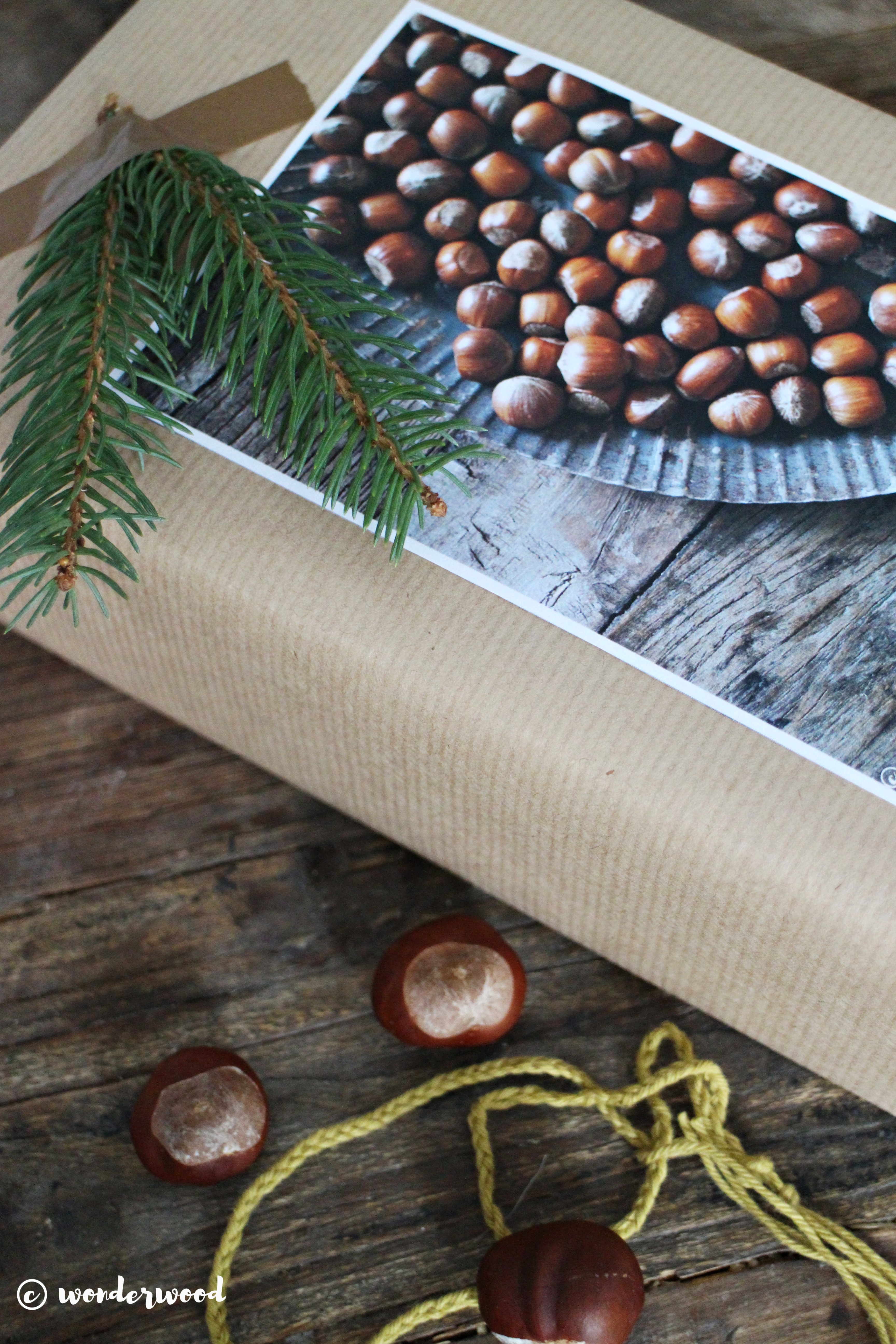 diy innpakking med foto-dekor // diy photo gift wrapping