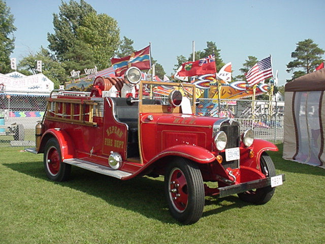 1931 Chev Pumper