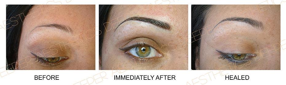 Deeper Aesthetics semi-permanent make up in Birmingham and