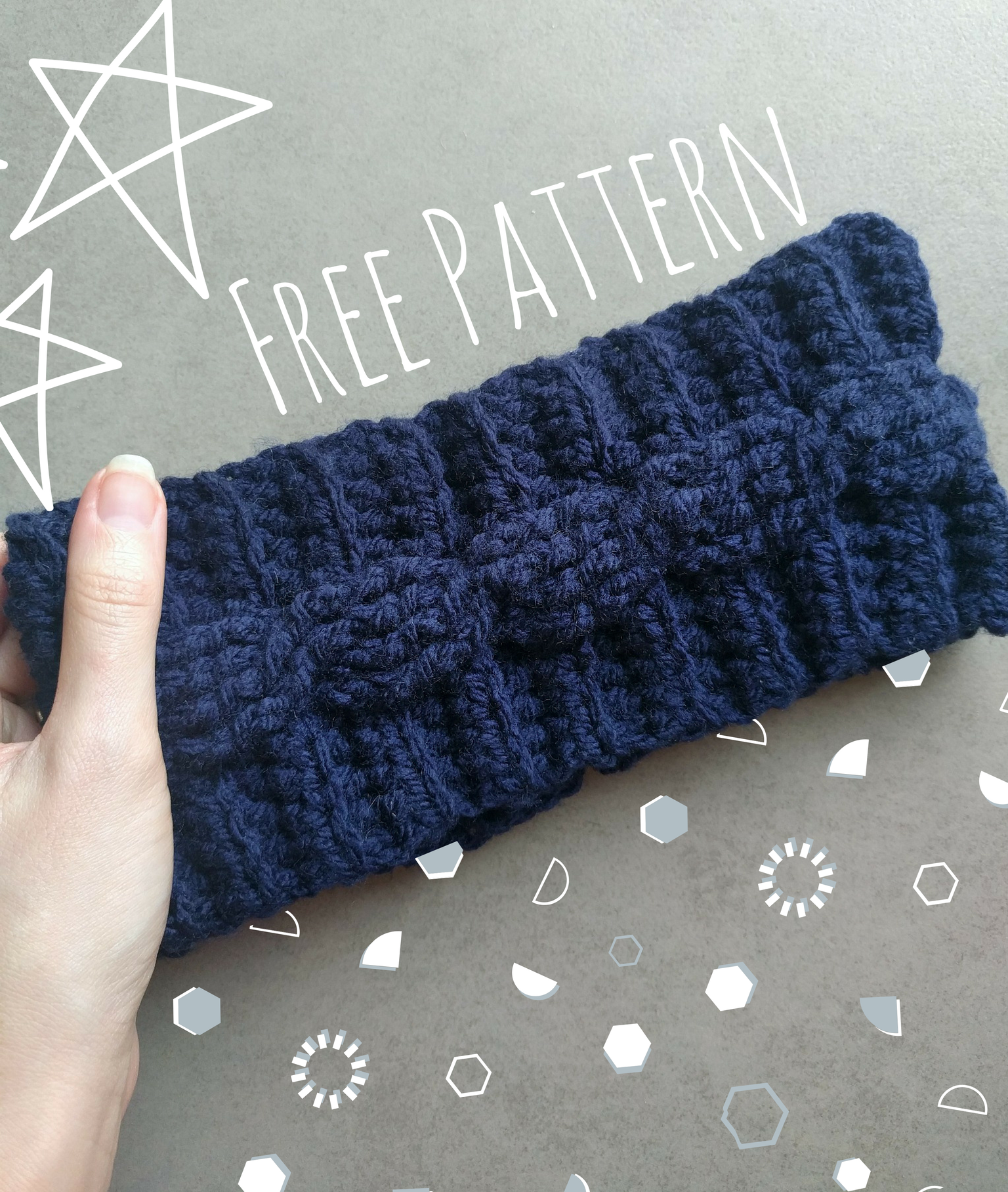 Cable Crochet Ear Warmer Pattern | Free Crochet Pattern | The ...