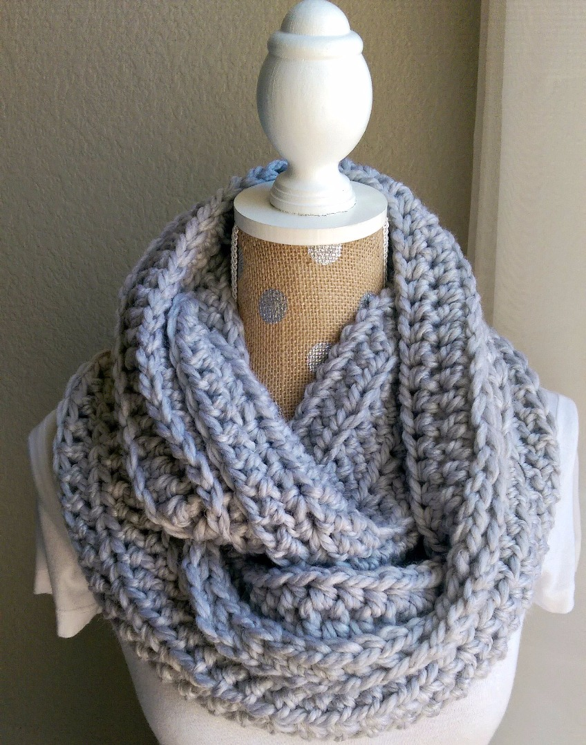 Chunky Crochet Scarf Pattern | The Snugglery | Knitting and ...